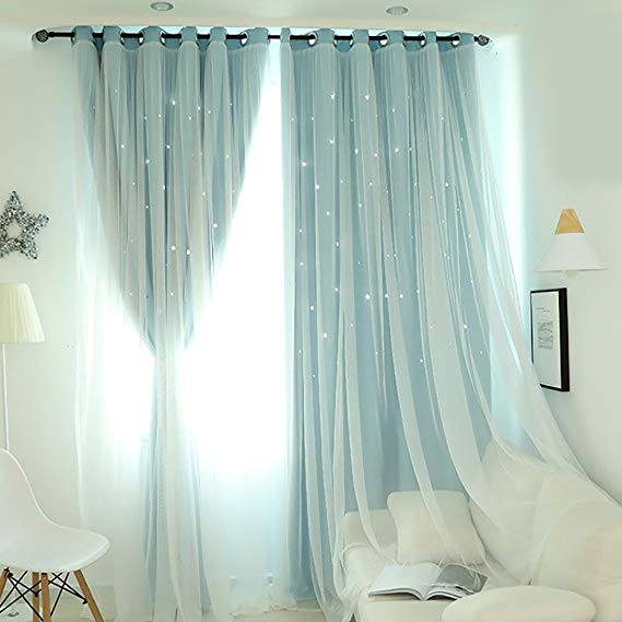 Wingbind Maritown 1 Panel Double Deck Eyelet Voile And Blackout