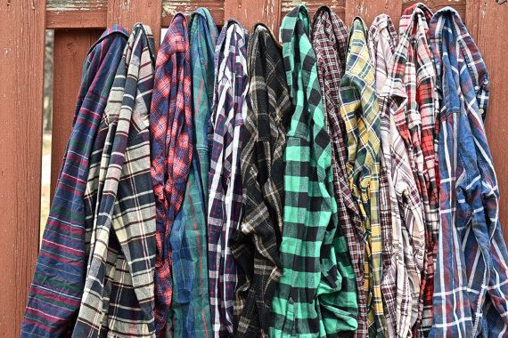 Mystery Oversized Hipster Grunge Flannel Shirt 90s Grunge Flannel Shirt Back To School