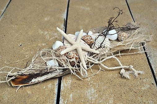 (1) Dekorácia...Cestou z pláže / DeKora - SAShE.sk - Handmade Dekorácie