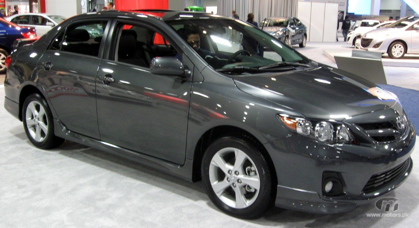 Toyota Corolla Sport 2012 !!! Love her! She's Gorgeous!