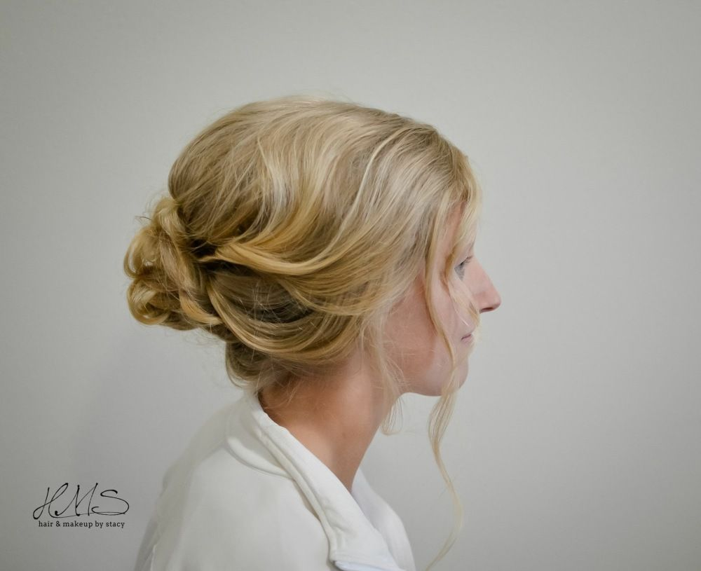 Inspiration by Stacy Allgood. Prom hair #promupdo #promhair #hairbystacyallgood #blonde @bloomdotcom