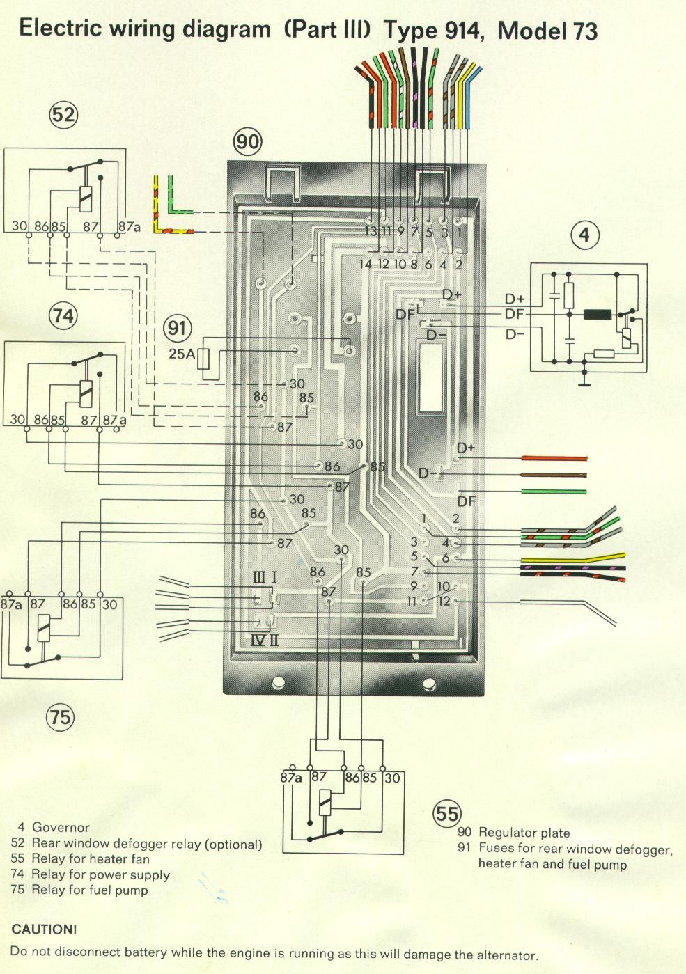 Porsche 914 Fuse Diagram Free Wiring For You 996 1970 Schematics Rh Ksefanzone Com Box 1972