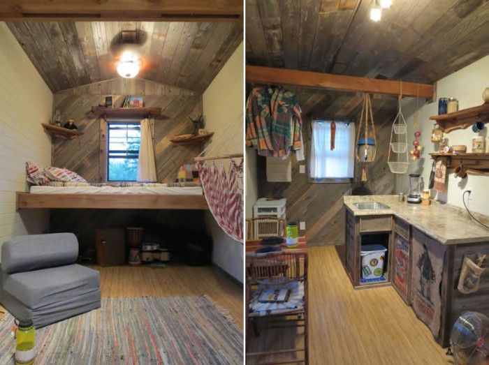 1000 images about Tiny house on Pinterest Micro house Wheels
