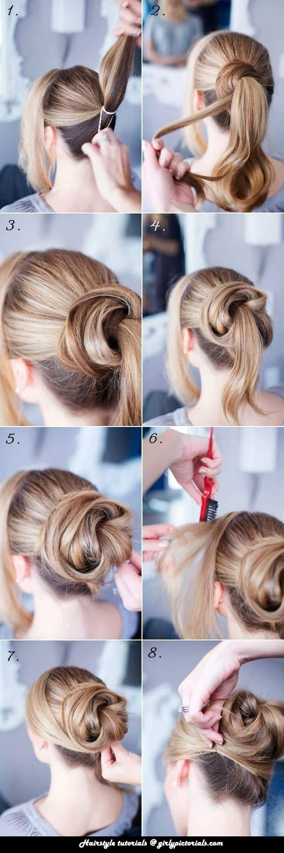 How To Make Low Bun Hairstyles Step By Step Ideas For Long Hair