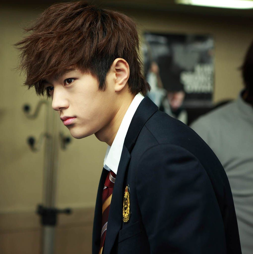 Style hair boy korean