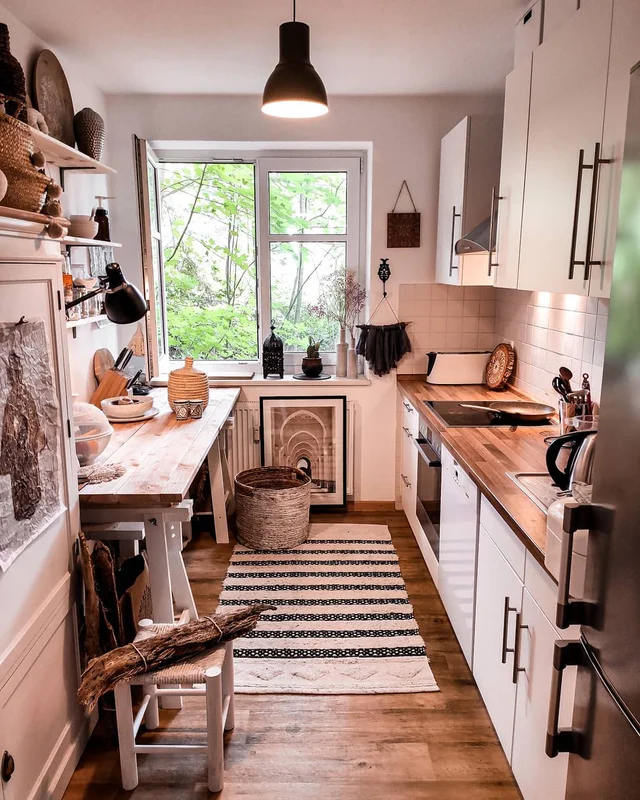 Kitchen nook in Germany