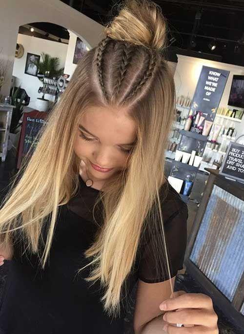 Neueste geflochtene lange Frisuren für Frauen – #Frauen #Frisuren # für #Geflo #coiffure