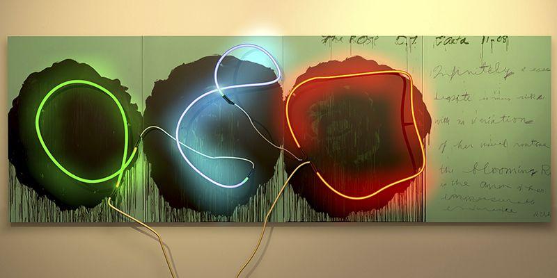 DELETREANDO A CY TWOMBLY (5). YENY CASANUEVA Y ALEJANDRO GONZALEZ. PROYECTO PROCESUAL ART