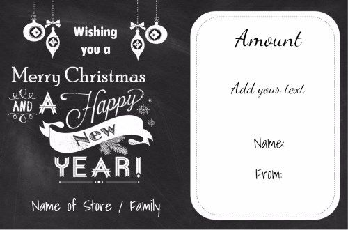 Free printable christmas gift certificate template can be free printable christmas gift certificate template can be customized online instant download since yadclub Image collections