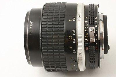 Excellent Nikon Nikkor 35 Mm F 1 4 Ai S Lens From Japan Lens Nikon F 1