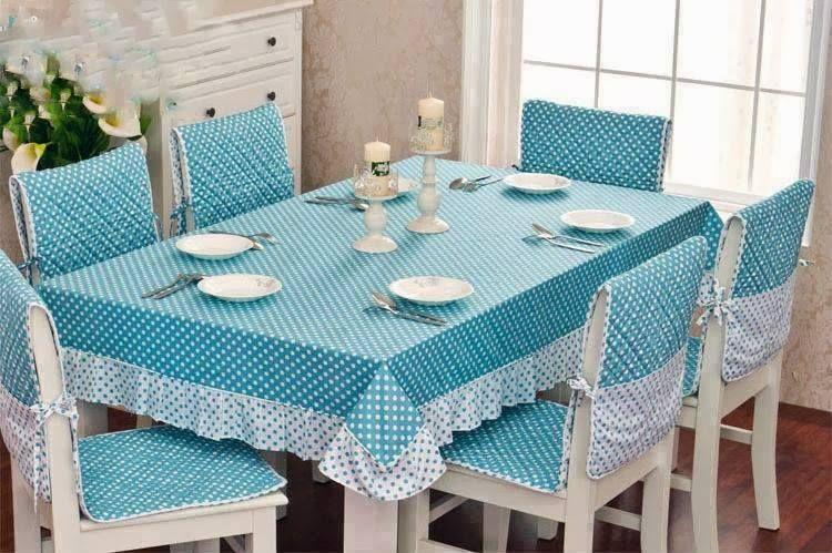 اطقم مفارش مفصله لمطبخك خياطة مفارش طاولة المطبخ Dining Room Chair Covers Dining Table Cloth Dining Chair Covers