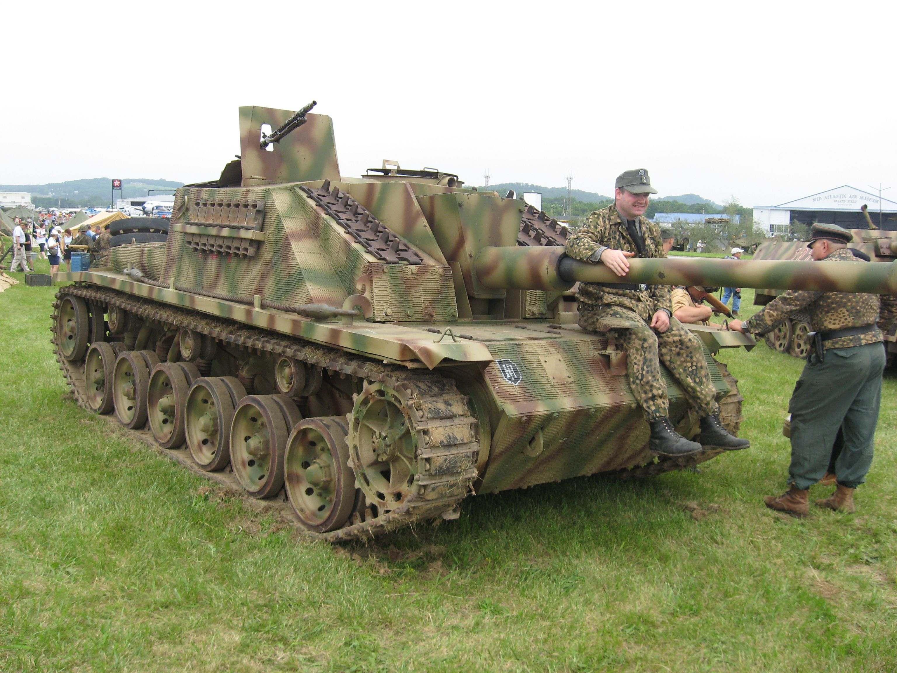 Day reenactment ww ii pictures pinterest - The Marder Iii Is The Name For A Series Of World War Ii German Tank Destroyers
