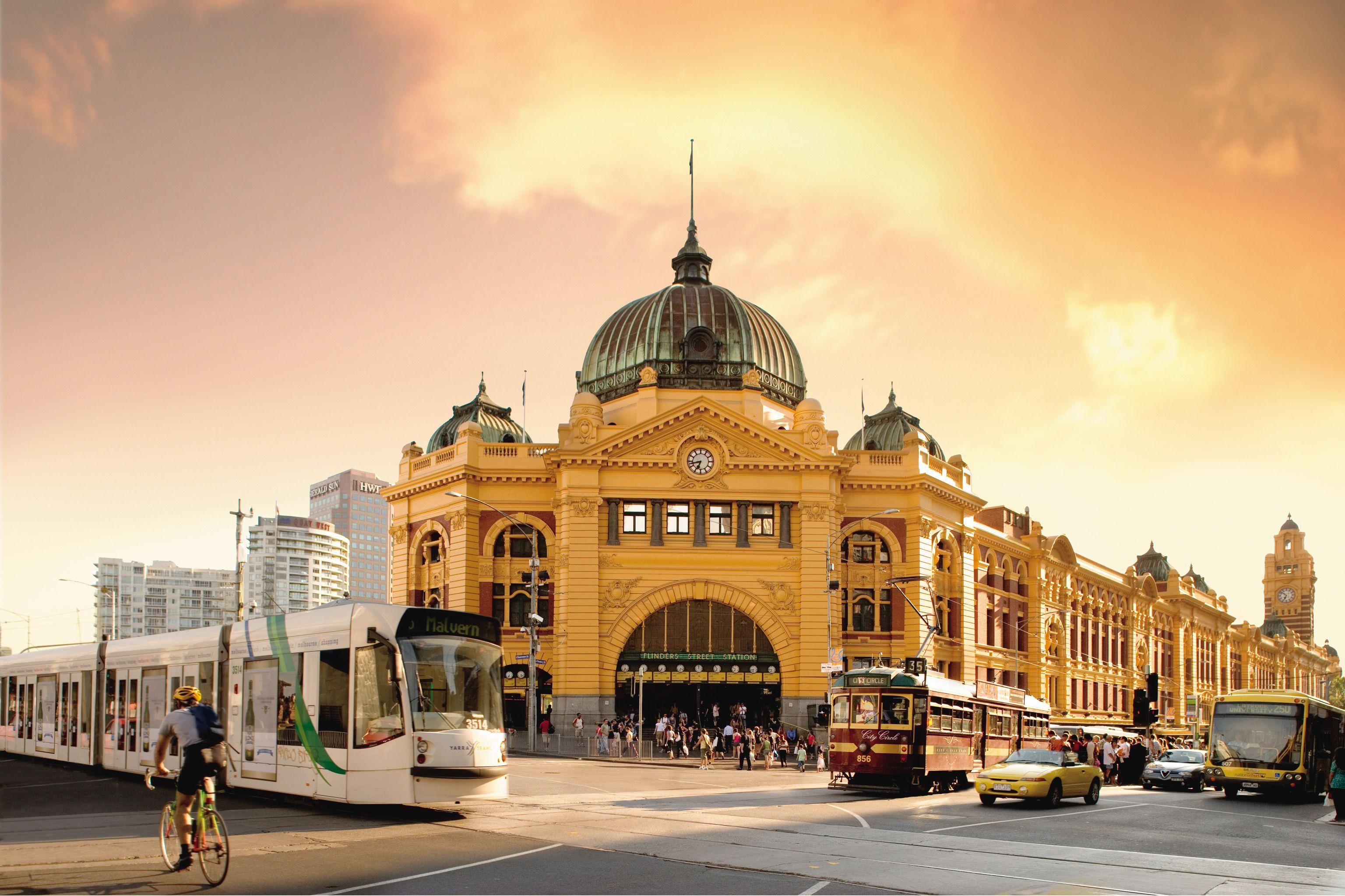 Flinders Street Station Melbourne Melbourne Hotel Australia