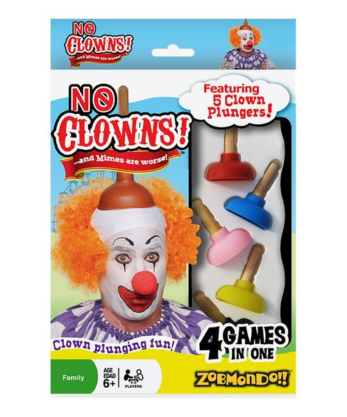 Take a look at this No Clowns Card Game Set on zulily today!