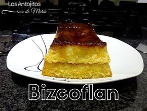 Bizcoflan o Pastel imposible de vainilla - Los Antojitos de María