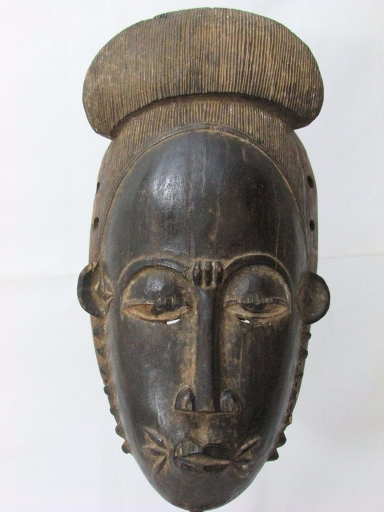 Auction ends today, this mask can be yours!! african mask ...