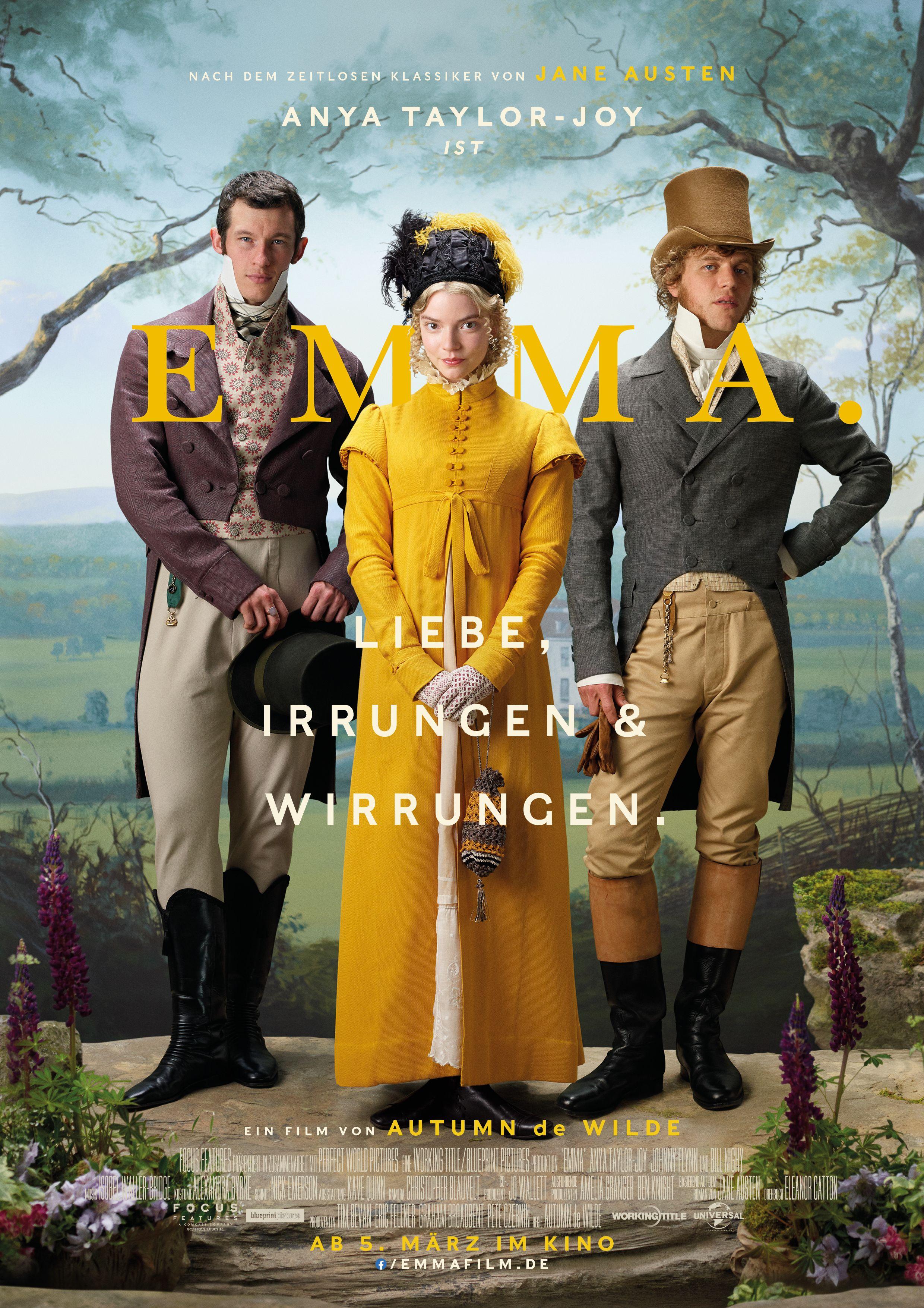 Emma Jetzt Im Kino Filme Jane Austen Kino