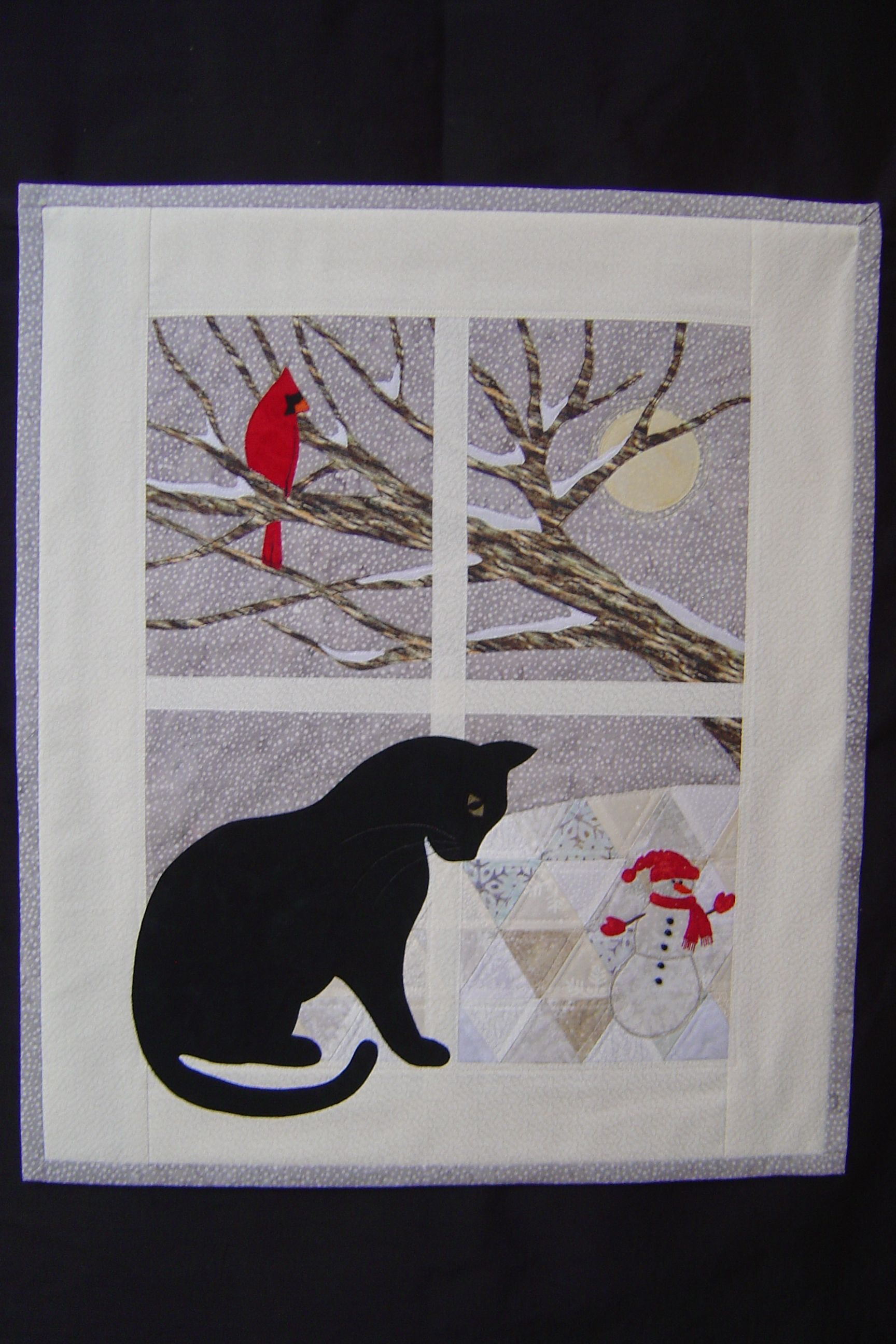 Winter Trouble From Trouble Boo Designs Wall Hanging Pattern