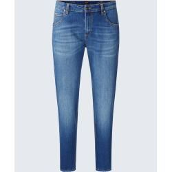 Girlfriend Jeans Gwen in Blue washed windsor