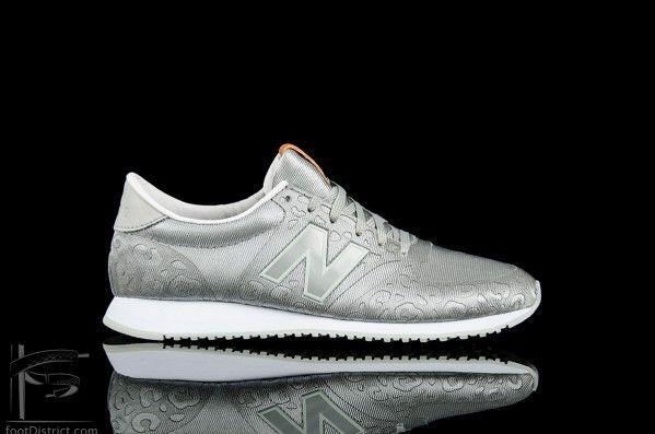 Ser responder hecho  New Balance WL 420 DFG Plateadas, Blancas | New balance, New balance 420,  Sneakers