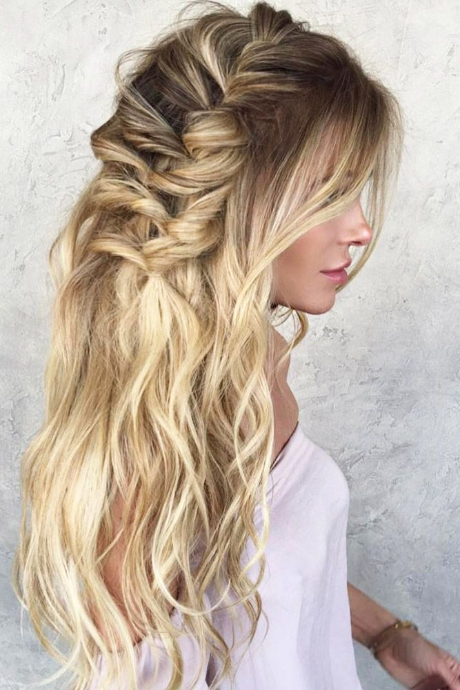 Hairstyles For Long Hair Attending A Wedding Easy Wedding Guest Hairstyles Hair Waves Long Hair Styles
