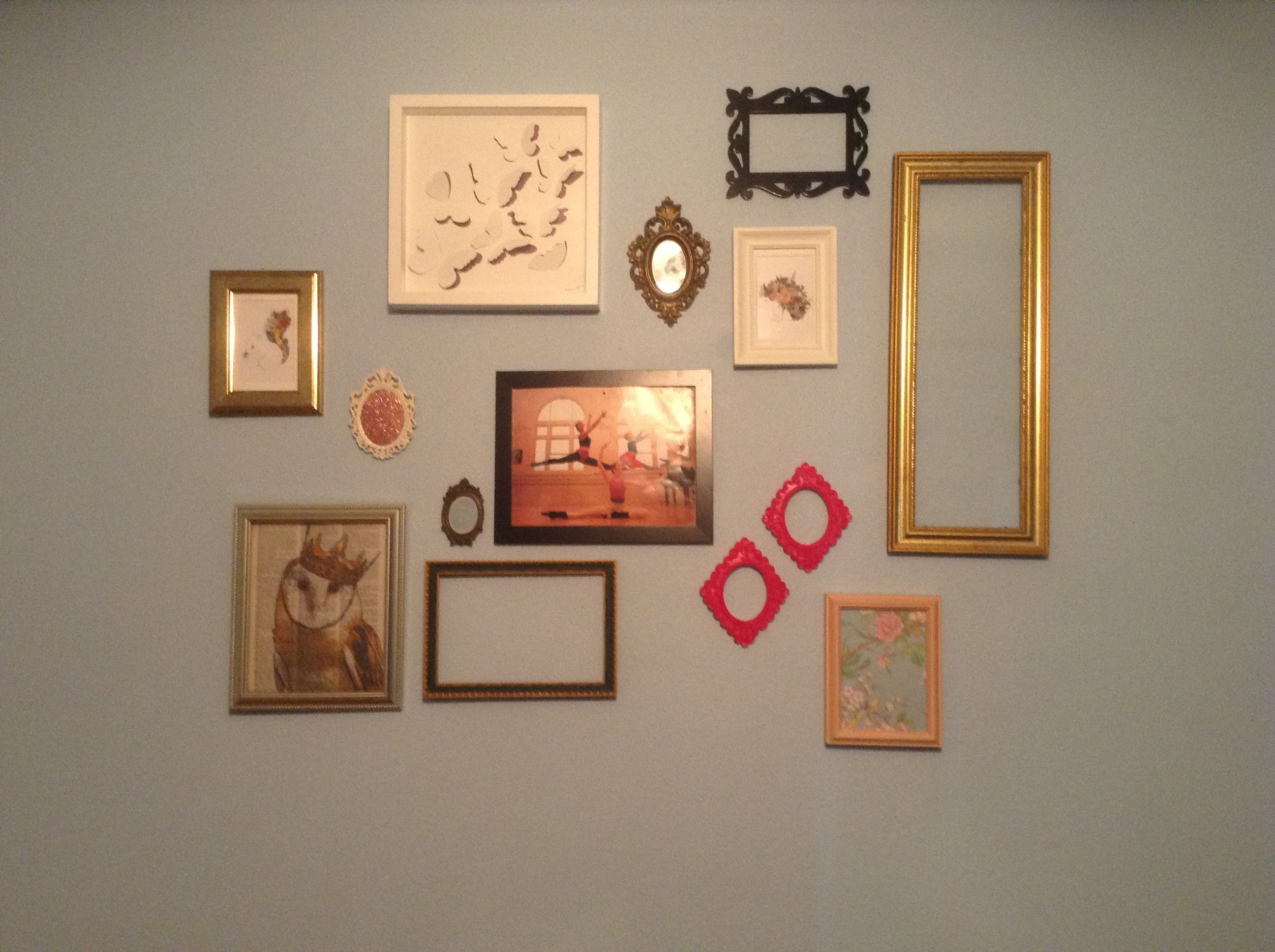 Bedroom Wall Frame Collage