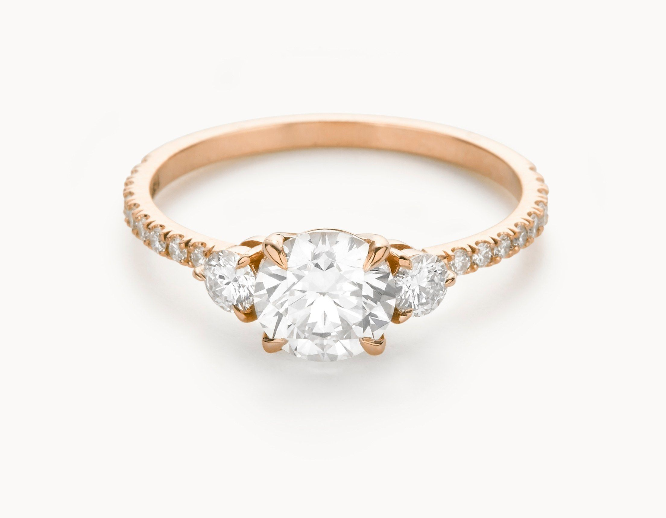 ring rose engagement conflict ethical and the taylor gold rings wedding features hart sustainable for in three socially stone free