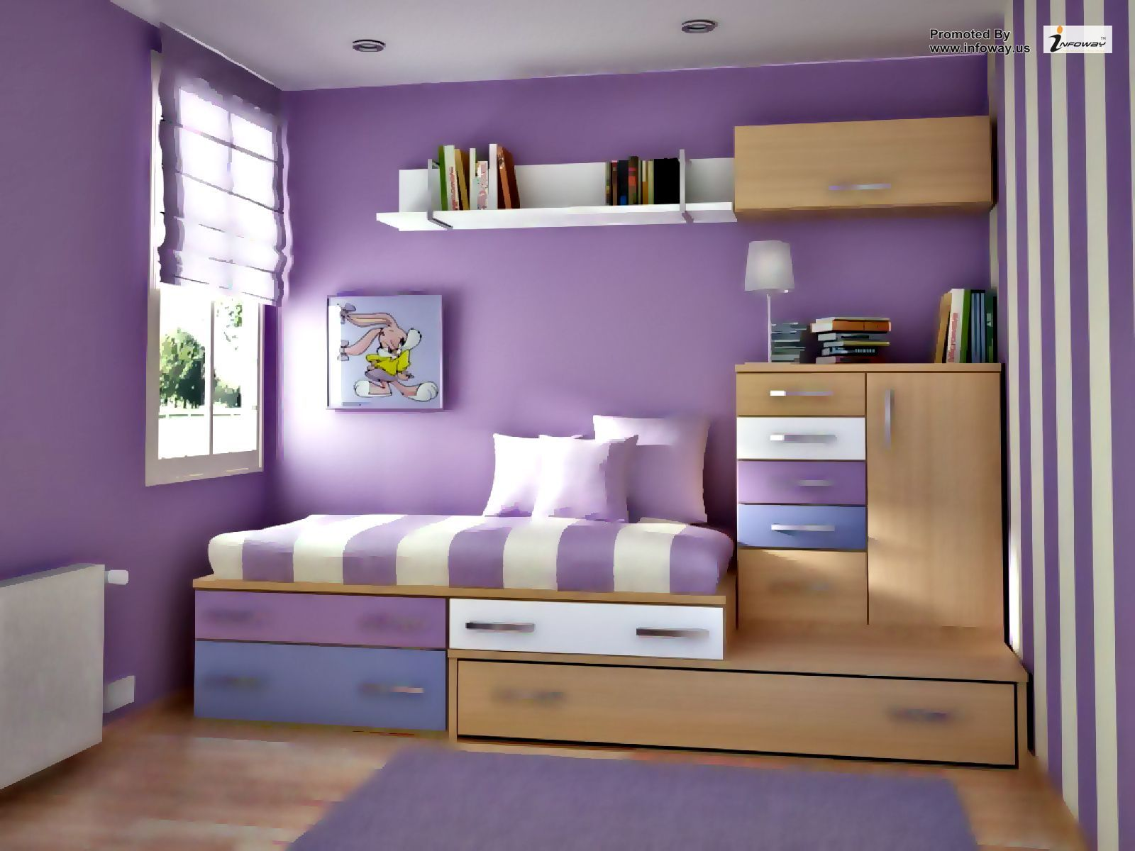How To Make Bedroom Furniture Simple Bedroom Bedroom Color Schemes Purple Bedrooms
