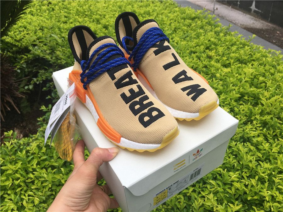 4fb30e0cf3180 Pharrell Williams x adidas NMD Hu Trail Pale Nude AC7361