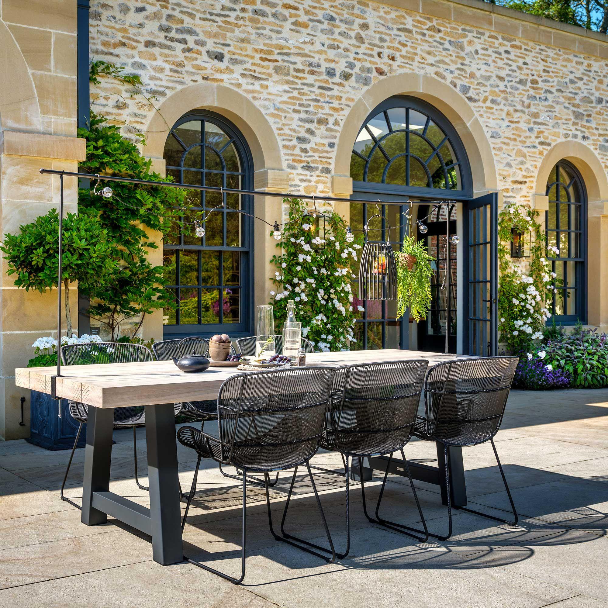 Photo of Butterfly Dining Armchair, Lava   Garden Chairs   Garden Furniture