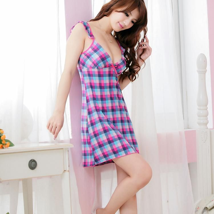 62ad77085f Sexy Women Sleeping Dress Hot Ladies Night Wear Pajamas