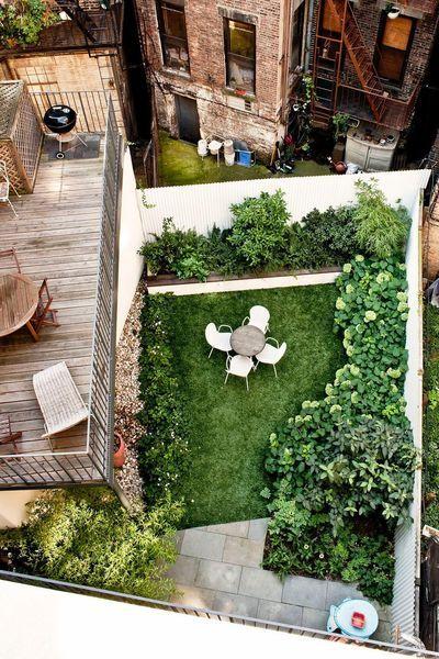 Comment Amenager Un Jardin En Ville Petit Jardin De Ville