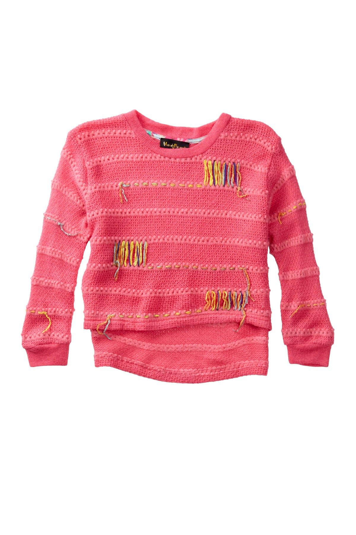 Hi-Lo Sweater (Toddler, Little Girls,