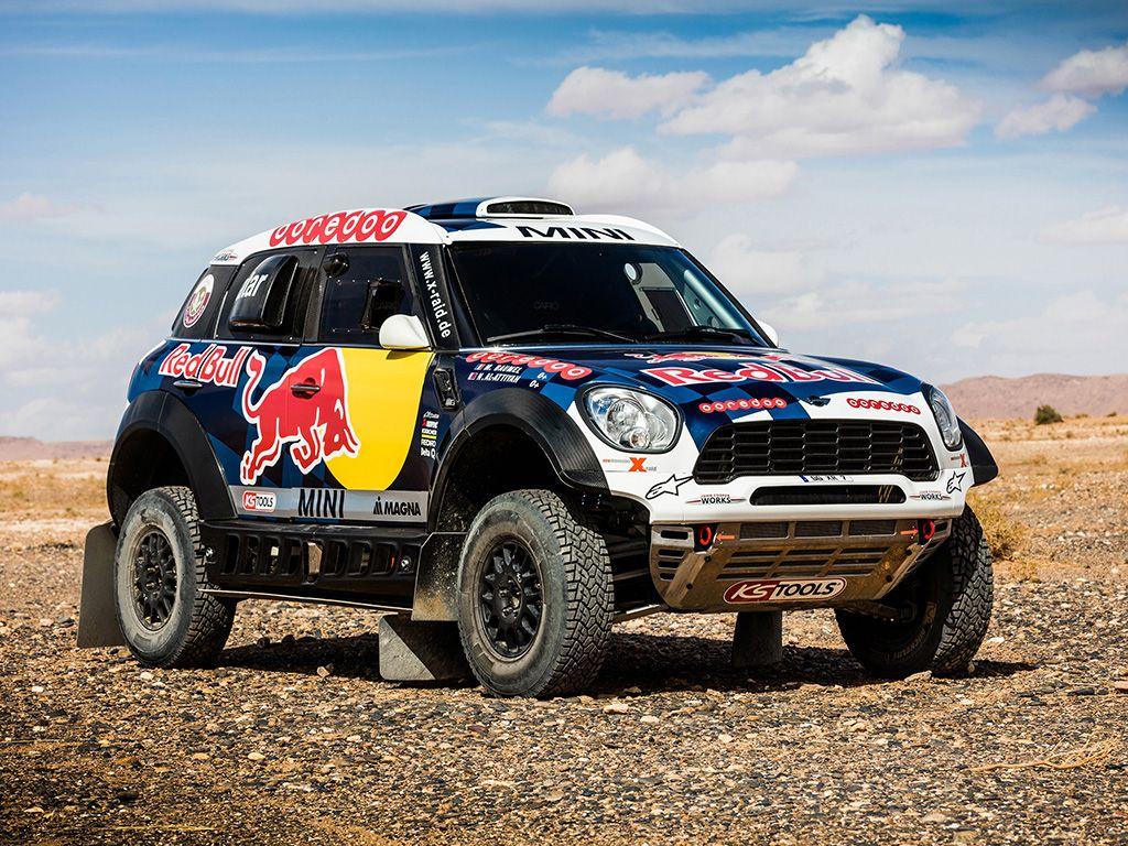 Mini Rally Dakar Mini Rally Rally Car Mini Countryman