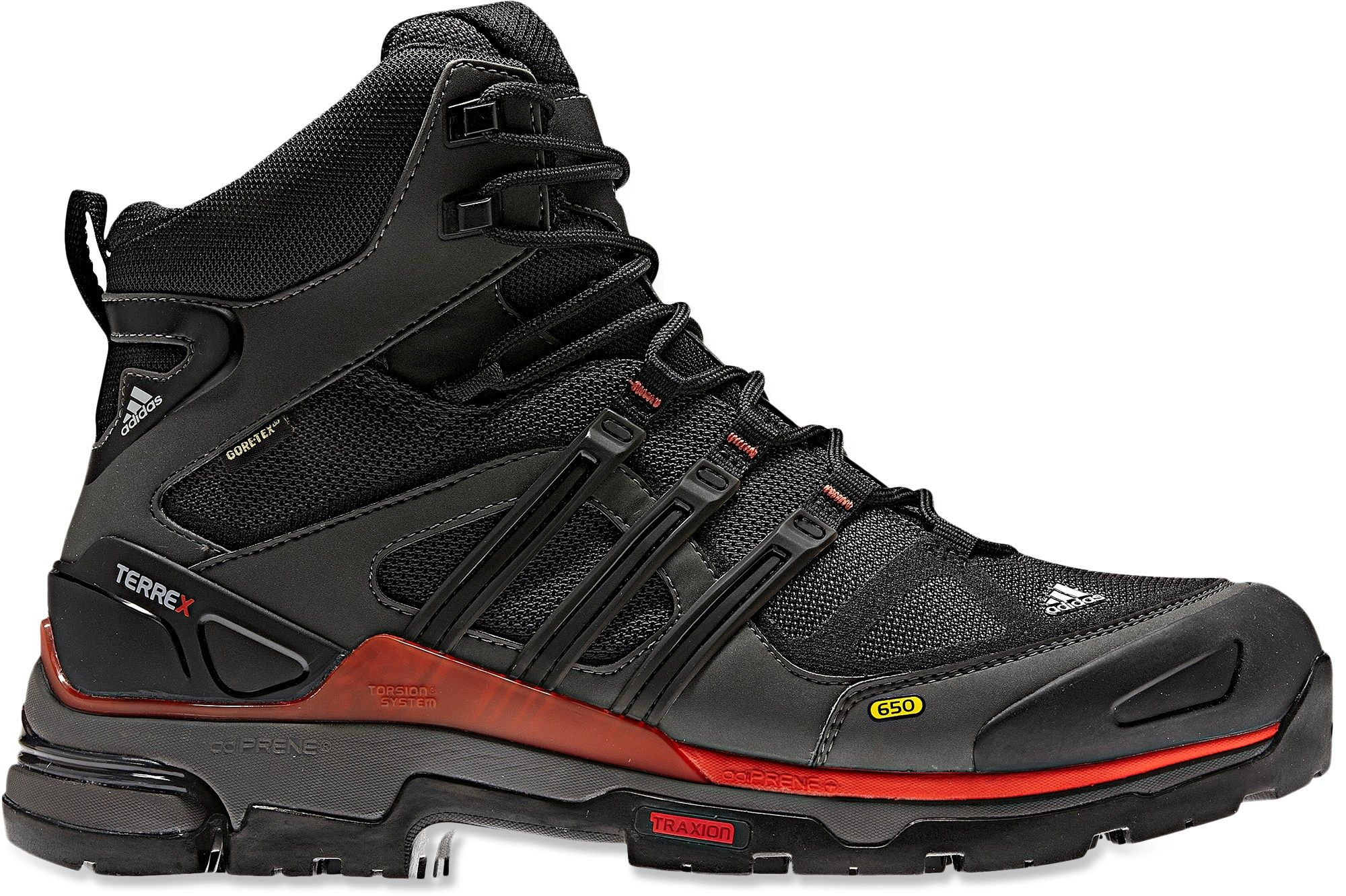wholesale dealer bb0c2 7b519 Adidas Terrex Fast X Mid GTX Hiking Boots Gore-tex, waterproof,  lightweight, breathable, moisture wicking lining, durable, great traction,  ...