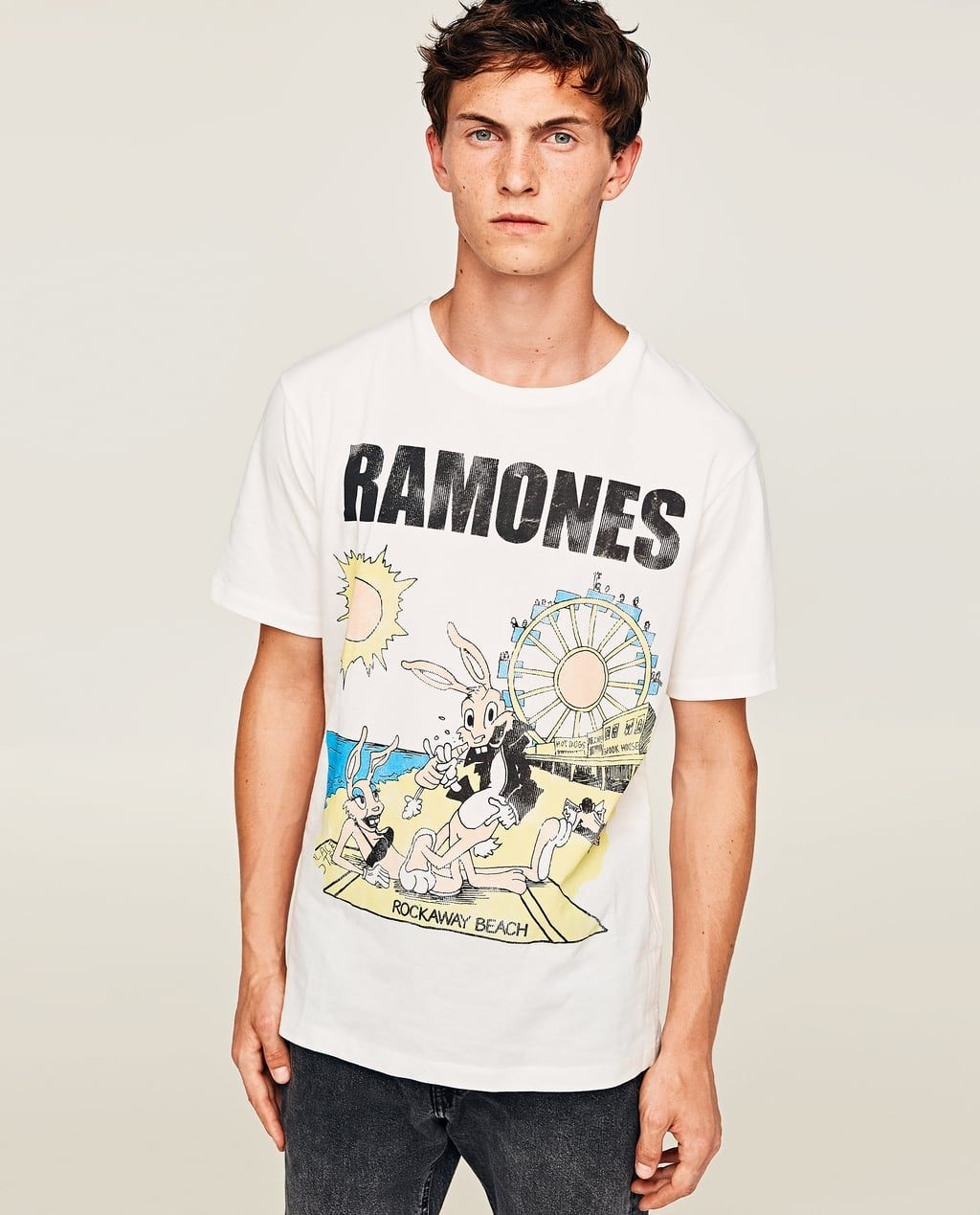 "72fed2e1856e back to the future™"" sweatshirt | T-Shirts | Ramones t shirt, Shirts ..."