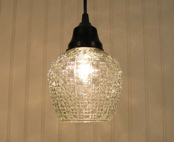 Vintage art deco light pendant new light in downstairs hall way