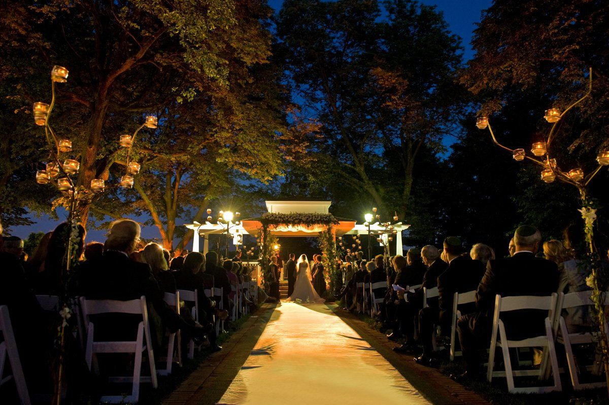 Ceremony under the stars   Carlyle on the Green @ Bethpage State ...