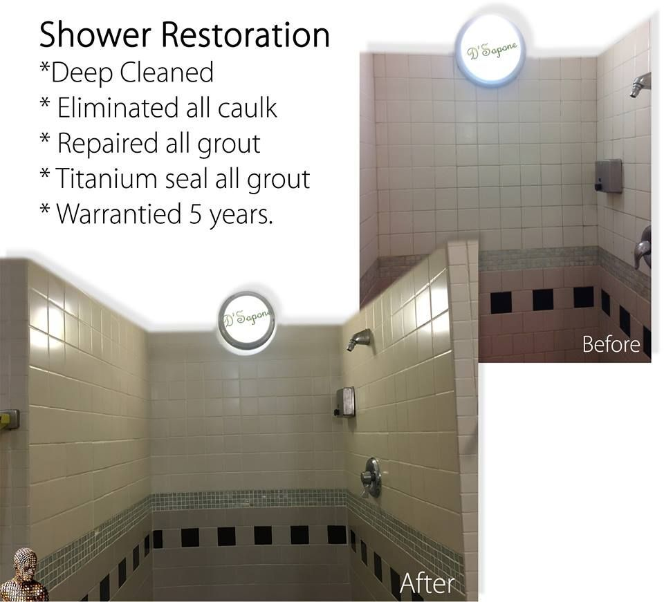 Cleaning & Sealing grout in Showers Shower, Shower grout