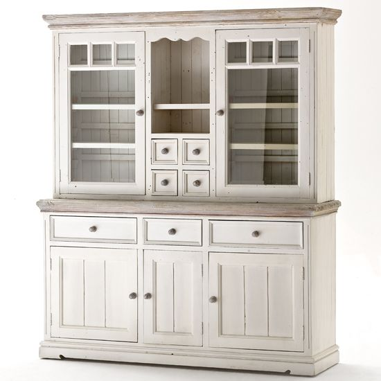 Opal Display Cabinet With Glass Doors Kitchen Display Cabinet
