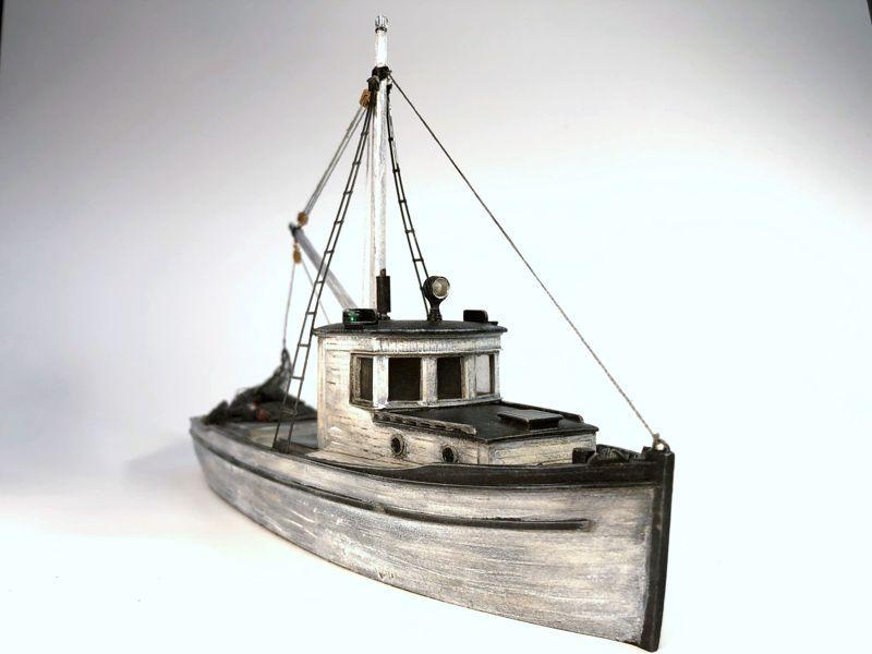 O On30 1 48 Scale Combination Fishing Boat Fishing Boats Boat Deep Sea Fishing
