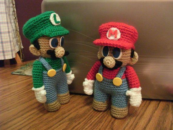 99433b6efa9 PATTERN Mario   Luigi Doll Combo Pattern Set - DOWNLOADABLE ...