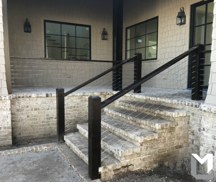 A Contractor We Work With Sent Over These Shots Of A Stair Cable Railing  They Finished. We Love Seeing The Results Of Their Projects, Itu0027s Always  Quality ...