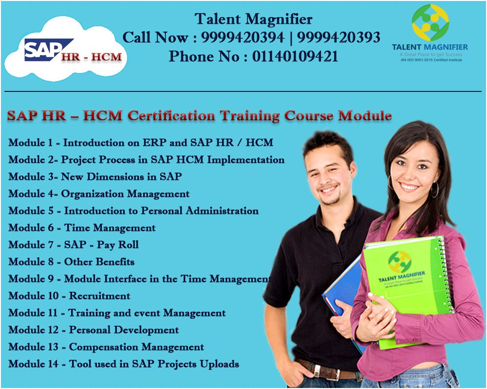 Sap Hr Hcm Consultant Certification Training Course