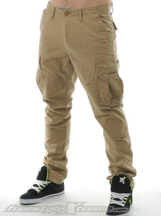 cargo pants | Home Mens Mens Jeans and Pants Volcom Dark Khaki ...