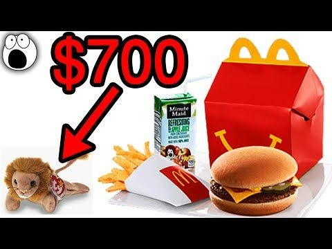 Top 20 Happy Meal Toys That Are Now Worth Serious Money Youtube Happy Meal Toys Happy Meal Mcdonalds Happy Meal