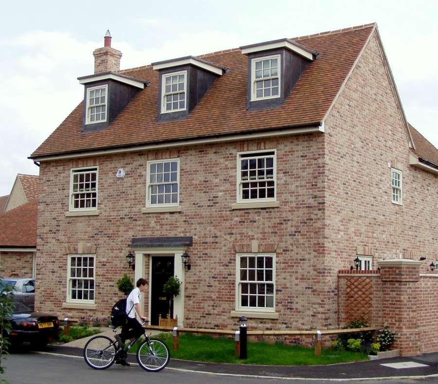 Potton Rectory Design House Exterior House Styles Gorgeous Houses