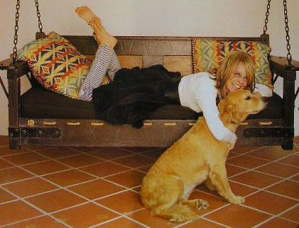 Golden Retrievers with Celebrity (Moms and Dads) - Diane Keaton