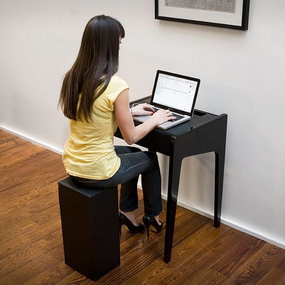 This Laptop Desk Features A Built In Sound System Convertible
