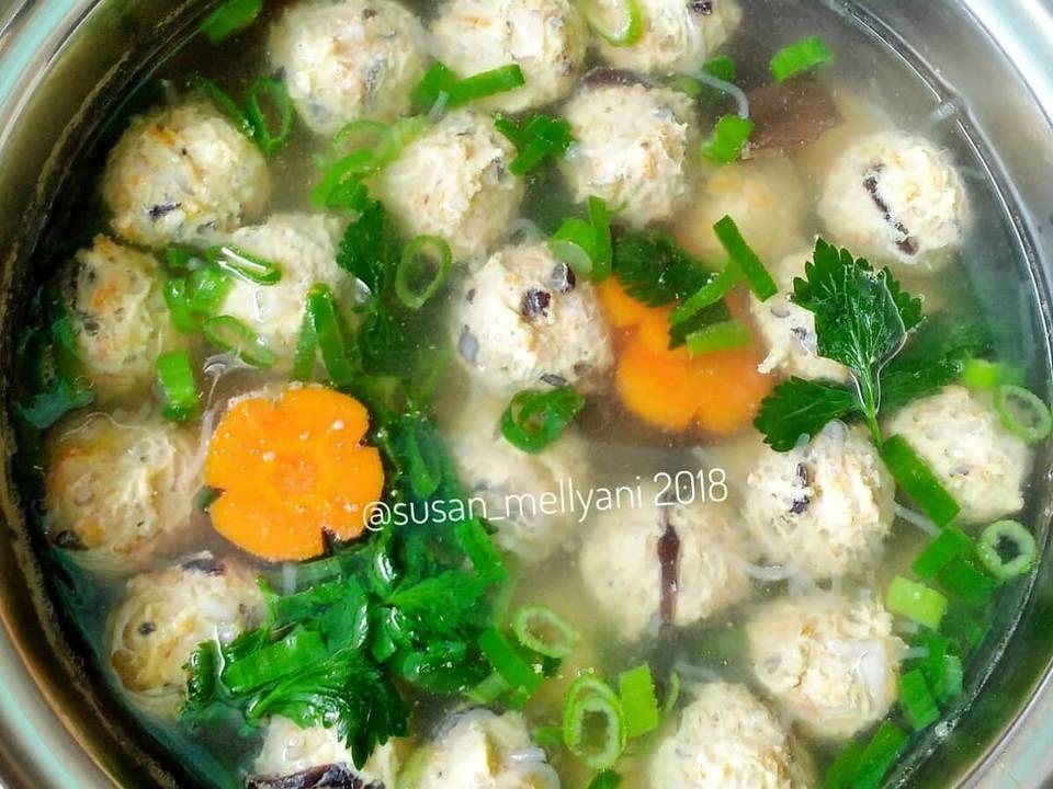 Resep Sup Bakso Serabut Bakso Lohoa Oleh Susan Mellyani Resep Makanan Sup Bakso Memasak